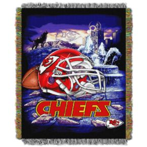 Kansas City Chiefs Tapestry Throw by Northwest