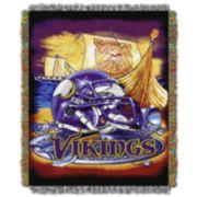 Minnesota Vikings Tapestry Throw by Northwest