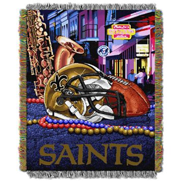 New Orleans Saints Tapestry Throw by Northwest