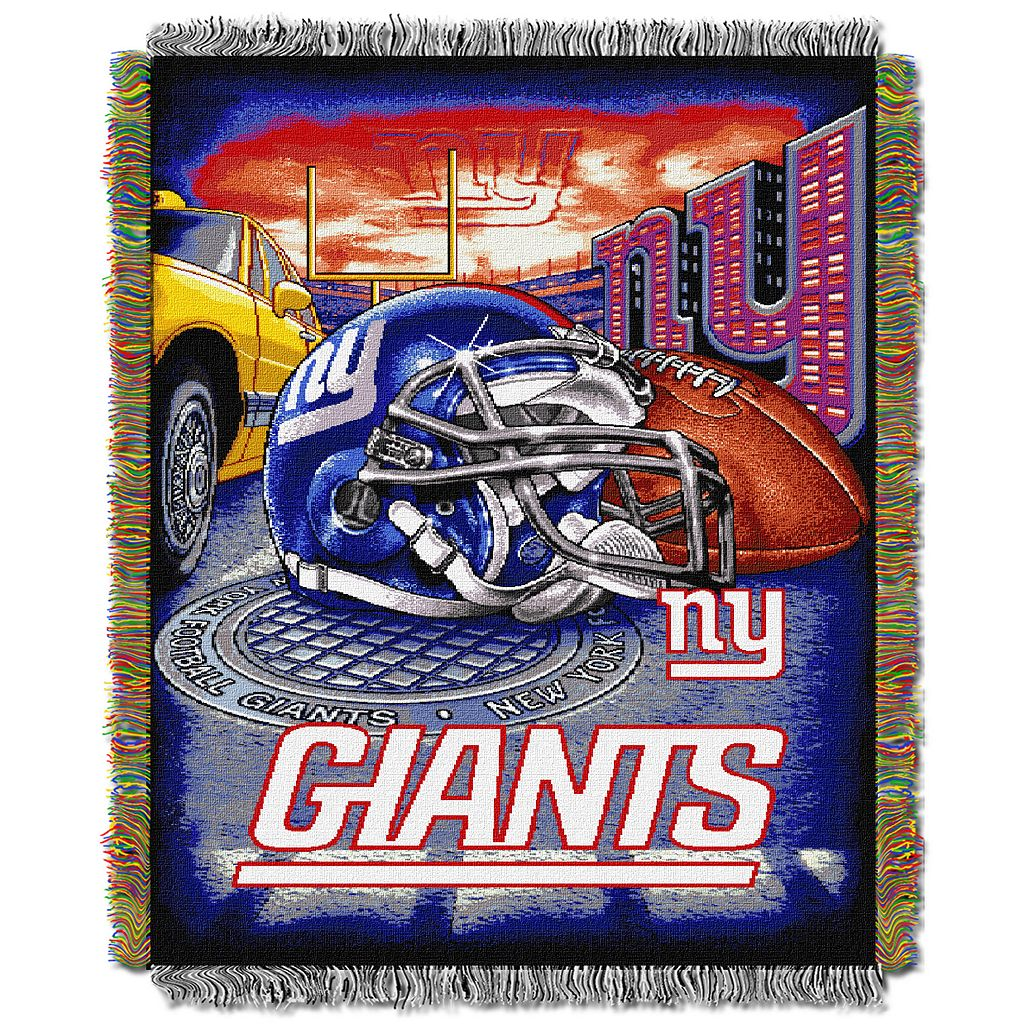New York Giants Tapestry Throw by Northwest