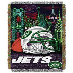New York Jets Tapestry Throw by Northwest