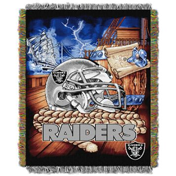 Oakland Raiders Tapestry Throw by Northwest