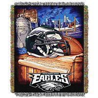 Philadelphia Eagles Tapestry Throw by Northwest