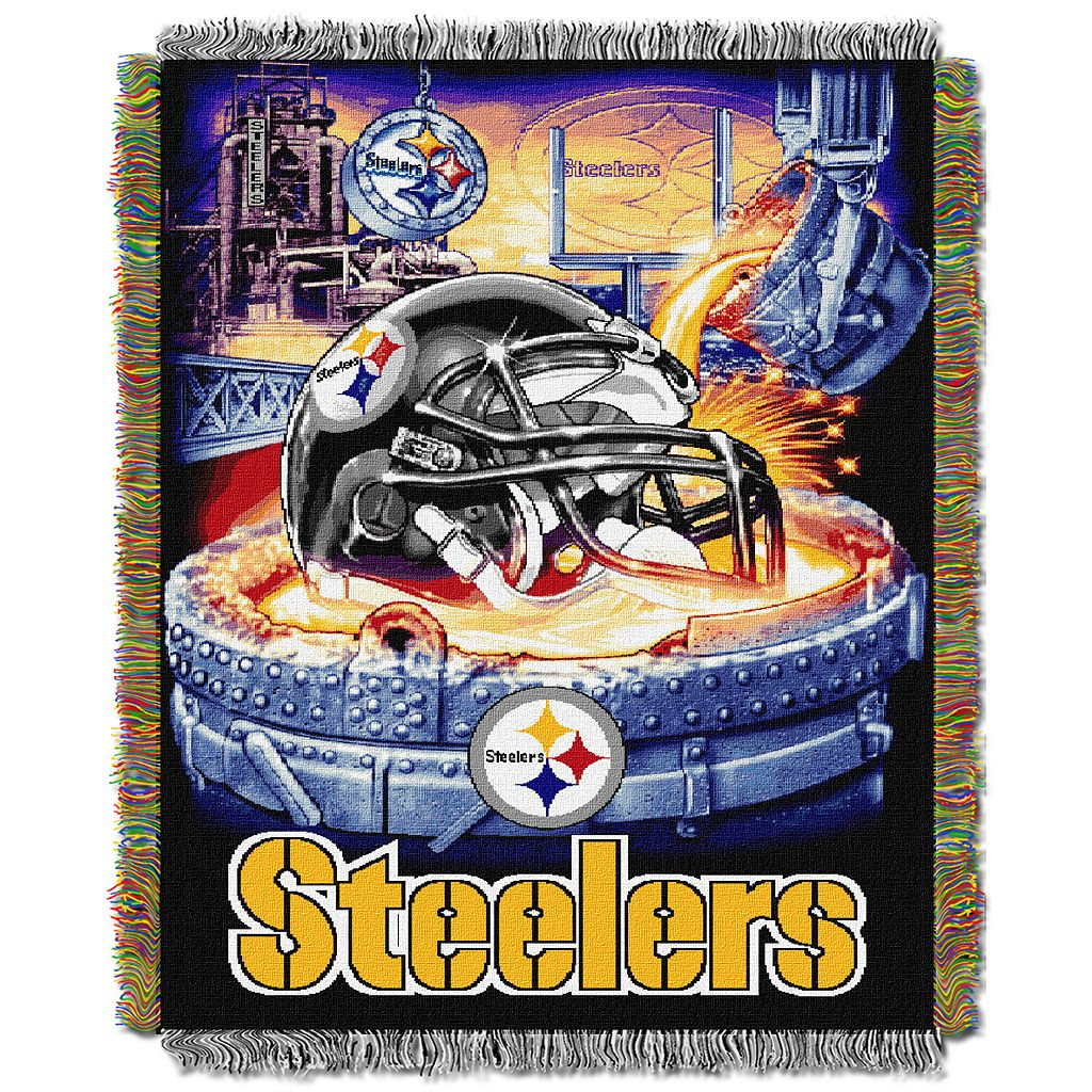 Pittsburgh Steelers Tapestry Throw by Northwest