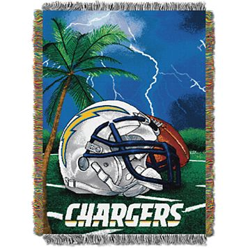 San Diego Chargers Tapestry Throw by Northwest