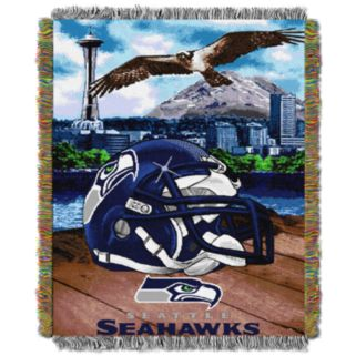 Seattle Seahawks Tapestry Throw by Northwest