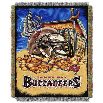 Tampa Bay Buccaneers Tapestry Throw by Northwest