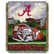 Alabama Crimson Tide Tapestry Throw by Northwest