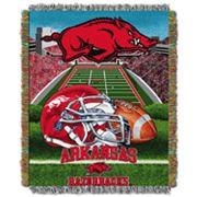 Arkansas Razorbacks Tapestry Throw by Northwest