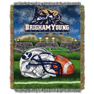 BYU Cougars Tapestry Throw by Northwest