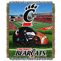 Cincinnati Bearcats Tapestry Throw by Northwest