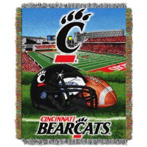 Cincinnati Bearcats Tapestry Throw by Northwest