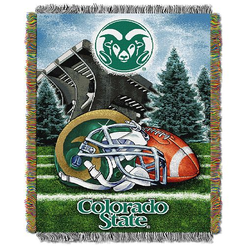 Colorado State Rams Tapestry Throw by Northwest