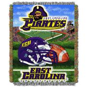 East Carolina Pirates Tapestry Throw by Northwest
