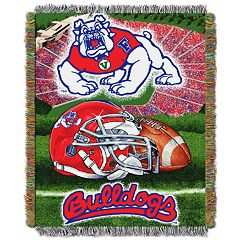 Fresno State Bulldogs Tapestry Throw by Northwest