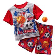 Up-Late Sports Pajama Set - Boys 4-12