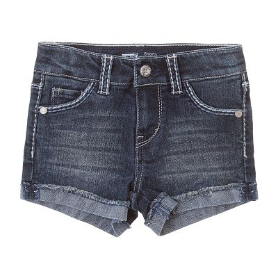 Levi's Taryn Cuffed Denim Shorts - Toddler