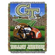 Georgia Tech Yellow Jackets Tapestry Throw by Northwest