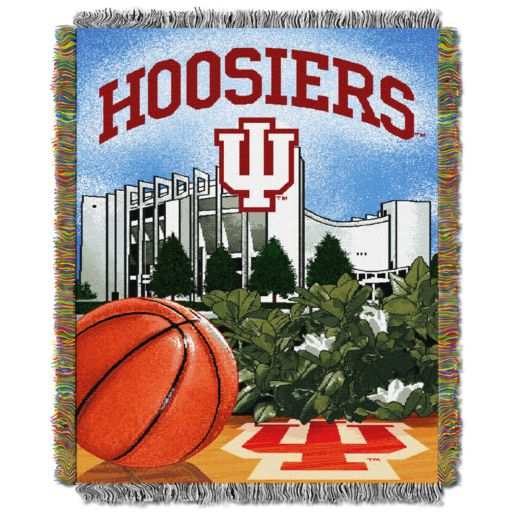 Indiana Hoosiers Tapestry Throw by Northwest