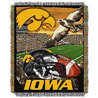 Iowa Hawkeyes Tapestry Throw by Northwest
