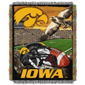 Iowa Hawkeyes Tapestry Throw by Northwest