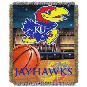 Kansas Jayhawks Tapestry Throw by Northwest