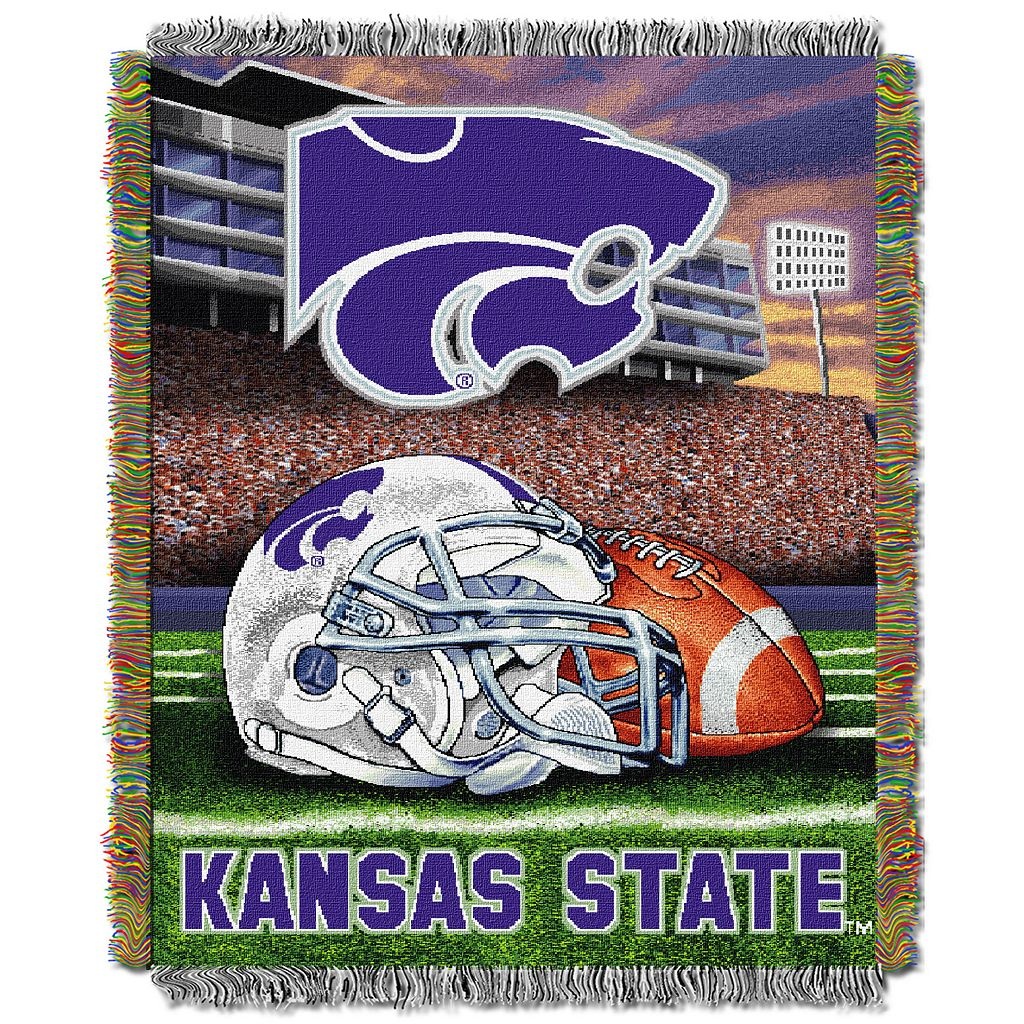 Kansas State Wildcats Tapestry Throw by Northwest