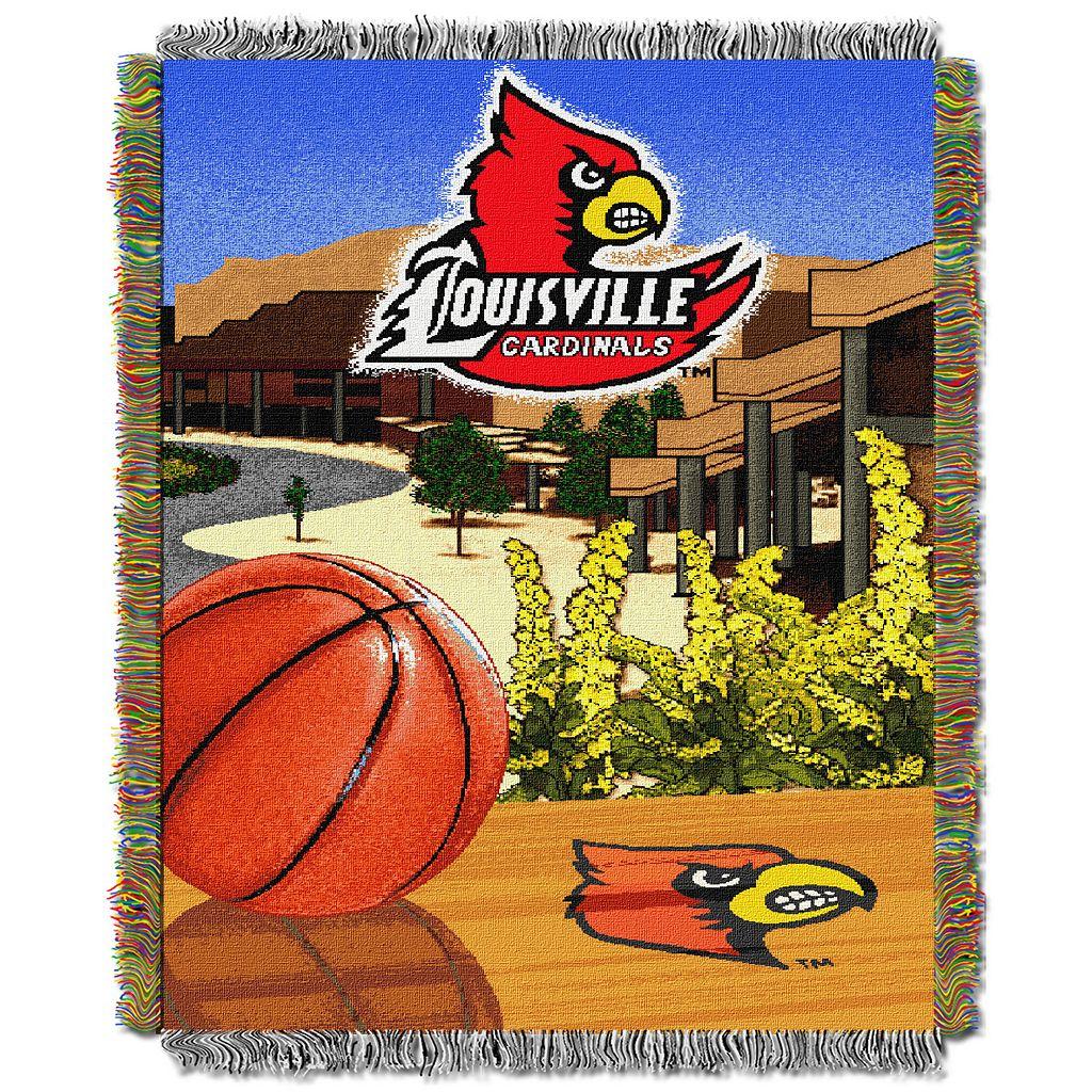 Louisville Cardinals Tapestry Throw by Northwest