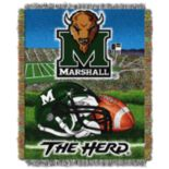 Marshall Thundering Herd Tapestry Throw by Northwest