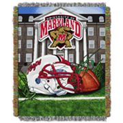 Maryland Terrapins Tapestry Throw by Northwest