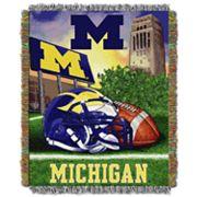 Michigan Wolverines Tapestry Throw by Northwest