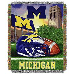 Michigan Wolverines Tapestry Throw by Northwest