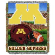 Minnesota Golden Gophers Tapestry Throw by Northwest