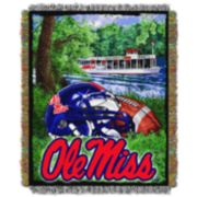 Ole Miss Rebels Tapestry Throw by Northwest