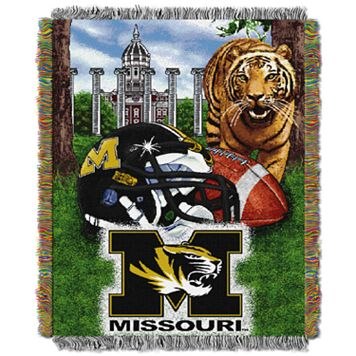 Missouri Tigers Tapestry Throw by Northwest