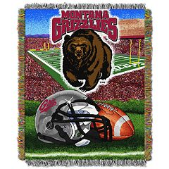 Montana Grizzlies Tapestry Throw by Northwest