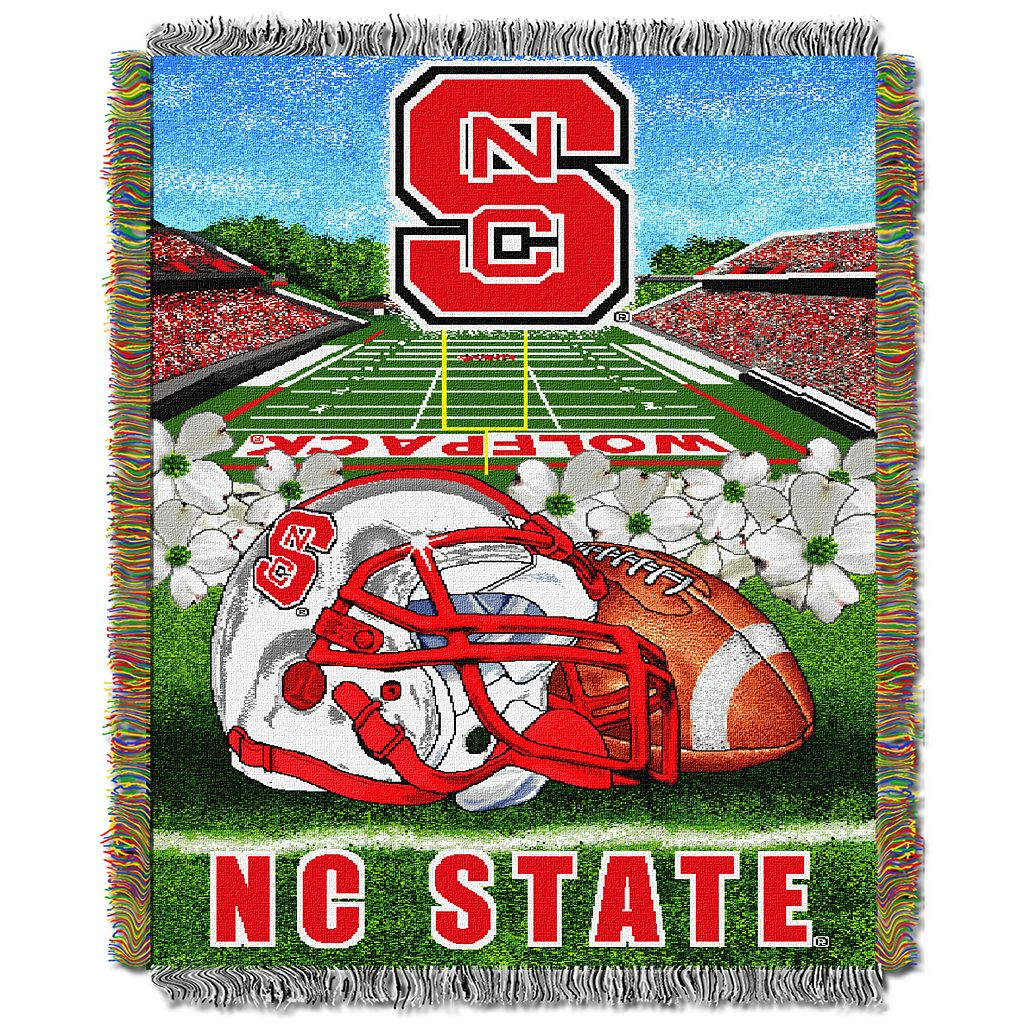 NC State Wolfpack Tapestry Throw by Northwest