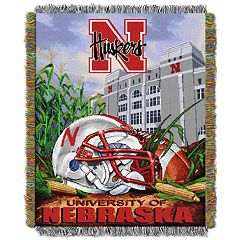 Nebraska Cornhuskers Tapestry Throw by Northwest