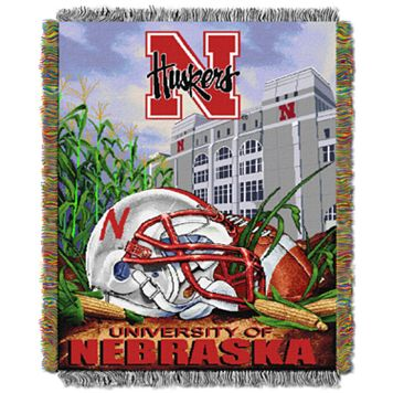 Nebraska Cornhuskers Tapestry Throw by Northwest