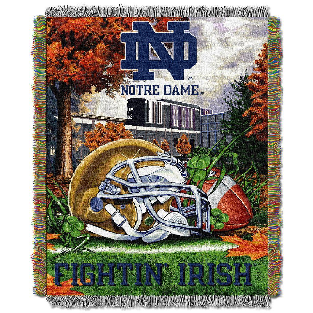 Notre Dame Fighting Irish Tapestry Throw by Northwest