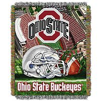 Ohio State Buckeyes Tapestry Throw by Northwest