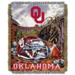Oklahoma Sooners Tapestry Throw by Northwest