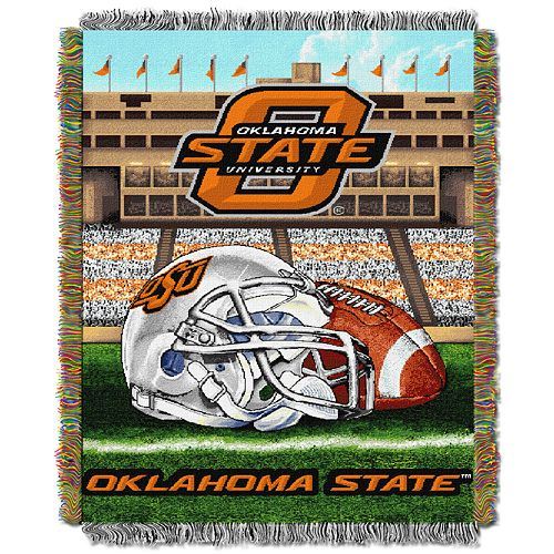 Oklahoma State Cowboys Tapestry Throw by Northwest