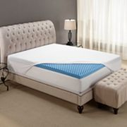 Home Classics 3-in. Gel Memory Foam Reversible Mattress Topper - Queen