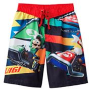 MarioKart 7 Cargo Swim Trunks - Boys 8-20