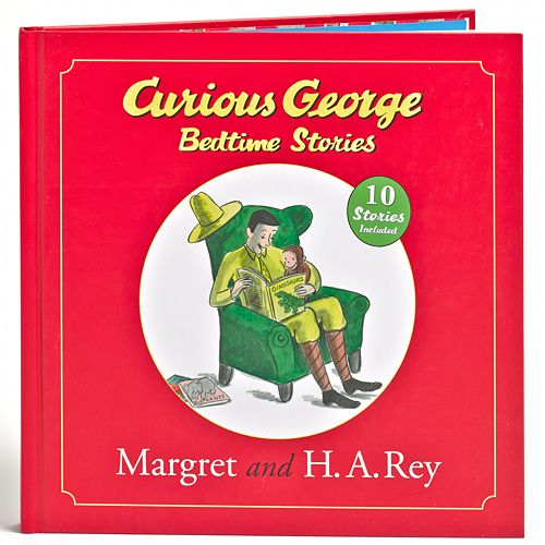 Curious George Bedtime Stories Book