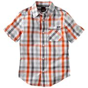 Tony Hawk Mad Plaid Button-Down Shirt - Boys 8-20