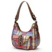 Chaps Plaid Hobo