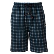Dockers Plaid Jersey Lounge Shorts