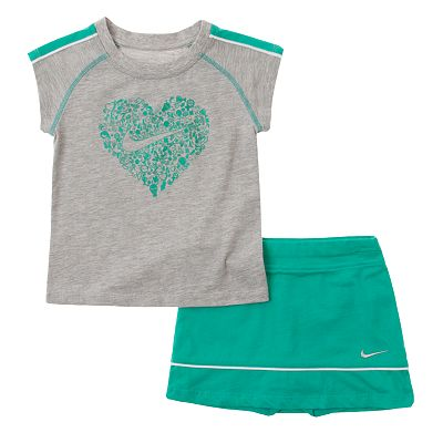 Nike Heart Tee and Scooter Set - Toddler